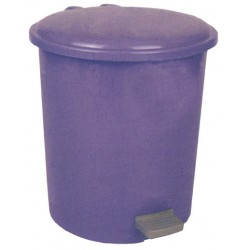 Pedallı Plastik Çöp Kovası